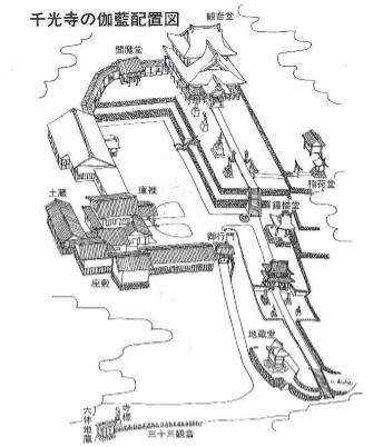 パンフレット 伽藍配置図