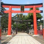 竹駒神社鳥居