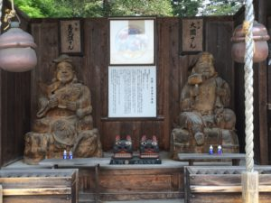 恵比寿大国像