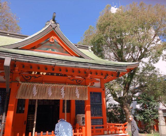 水鏡神社社殿