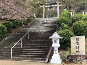 階段と鳥居