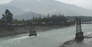 都江堰 渡桟橋