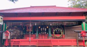 八坂社・神楽殿
