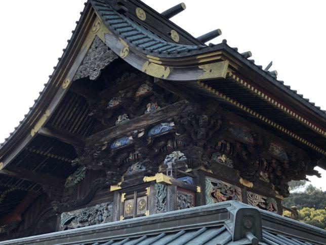 本殿の彫物